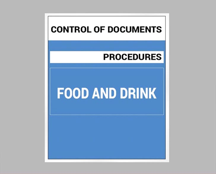 Document Control - Food And Drink - Oracle Document Cloud