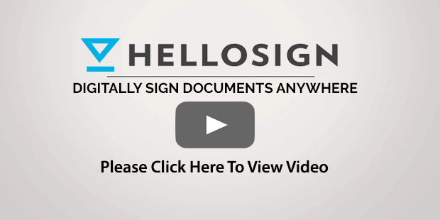 HelloSign Sign Documents Anywhere